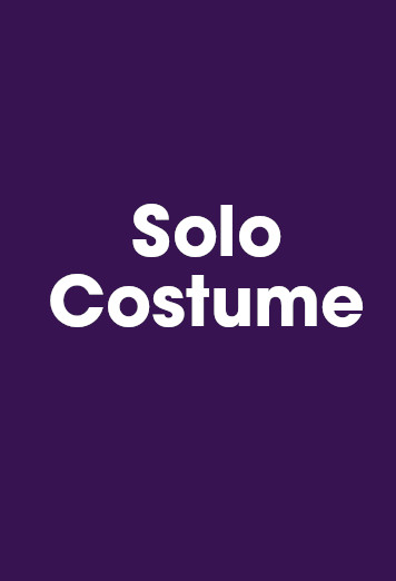 Solo (Please indicate below which solo costume(s) )